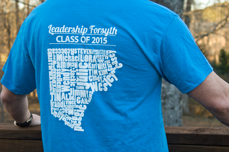 T-shirt Design for Leadership Forsyth